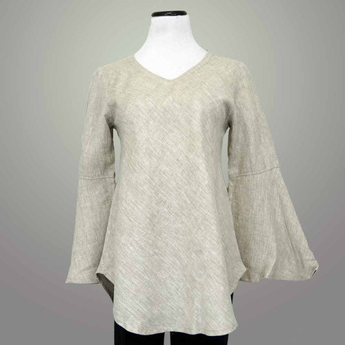 Crown Linen Large Sleeve Top