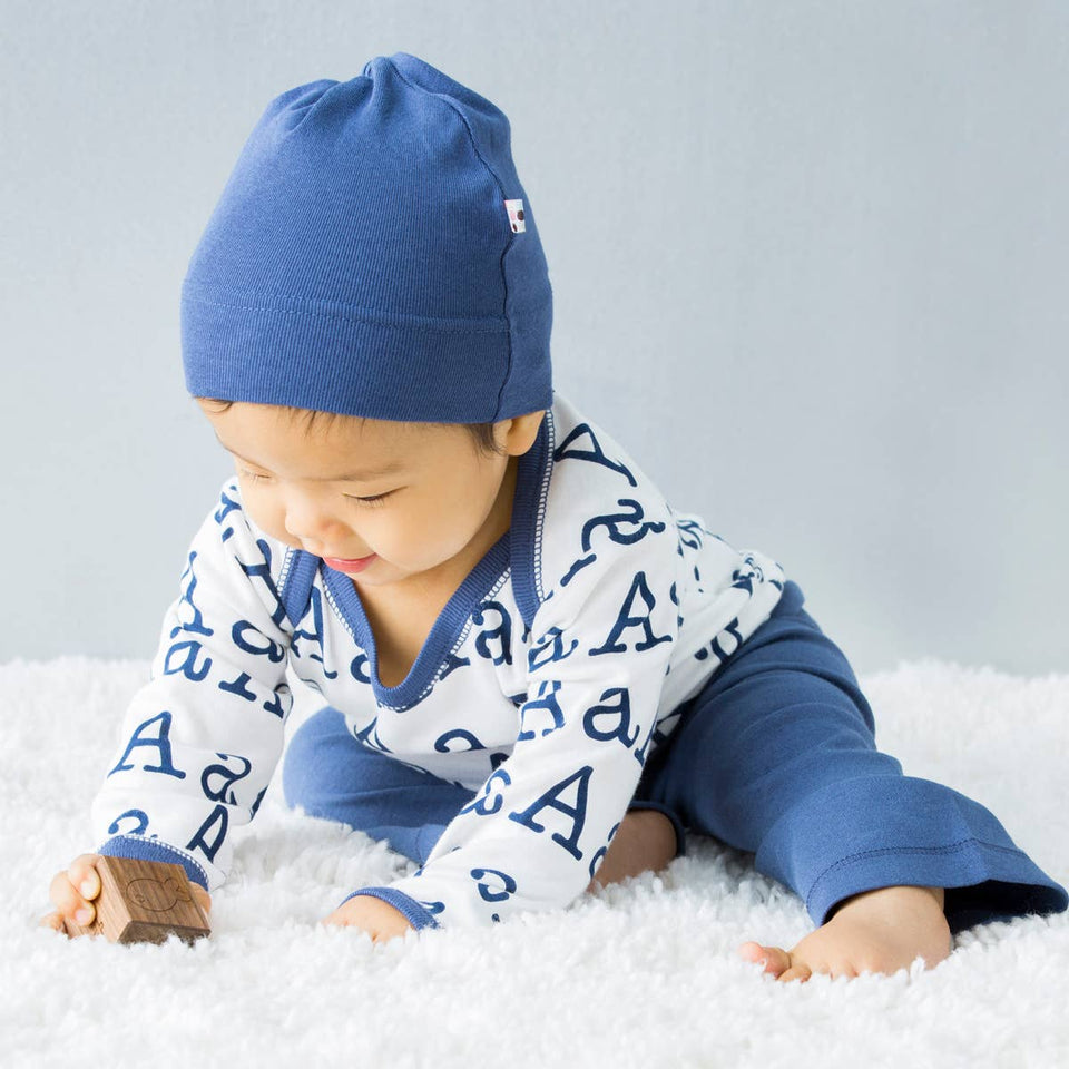 Modern Knot Baby Hat- River