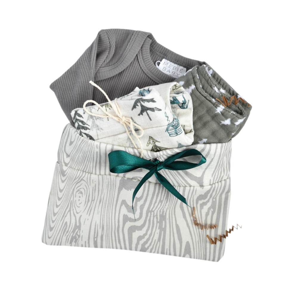 Cabin Pine- Baby Gift Bundle