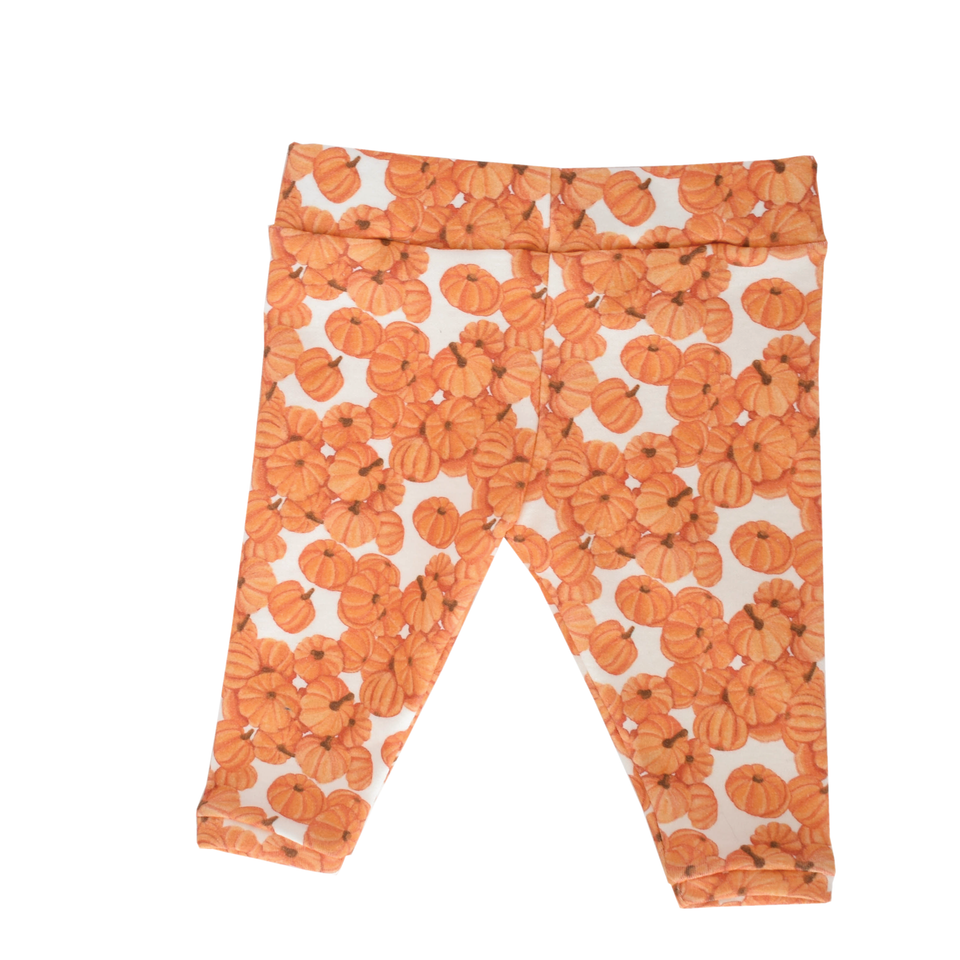 The Perfect Pumpkin Patch Baby Leggings