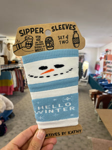Slipper sleeves for your cup