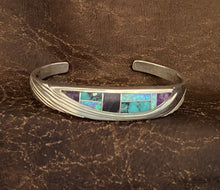 Load image into Gallery viewer, Inlay - shalako cuff bracelet