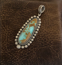 Load image into Gallery viewer, Pendant - Royston turquoise pendant