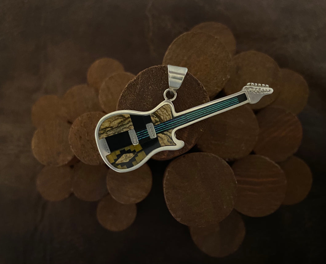 Inlay - guitar pendant
