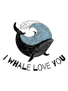 I Whale Love You - Women's T- Shirt