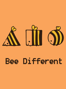Bee Different -  T-shirt