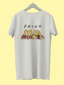 "Get a ""FRIES"" Tee & raise fund to fight COVID19 - Campaign by Sushmita"