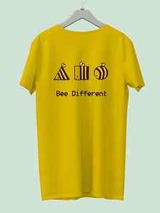 "Get a ""BEE DIFFERENT"" Tee & help get a life transformed - Campaign by Pulkita"