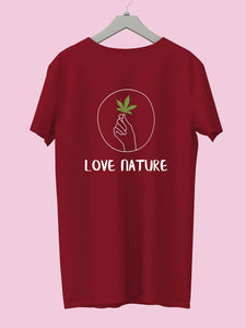 "Get a ""Love Nature"" Tee & support poor patients - Campaign by Duggu Gahlot"