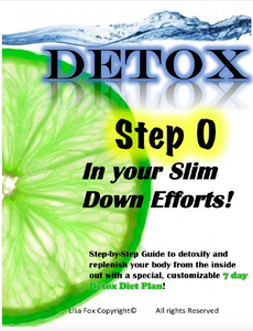 Detox guide with a 7-Day detox diet plan