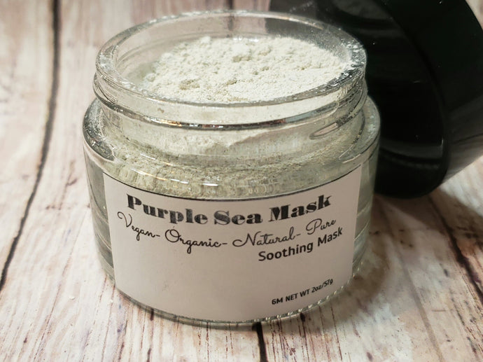 Purple Sea Soothing Mask - ORNĀTU - Organic Cosmetics