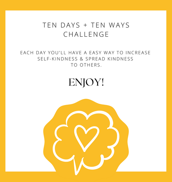 Ten Easy Ways To Show Kindness