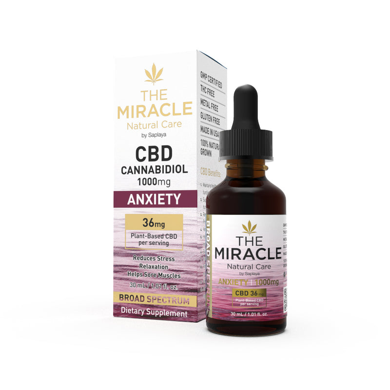 CBD Broad Spectrum 1000mg Anxiety