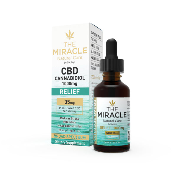 CBD Broad Spectrum 1000mg Relief