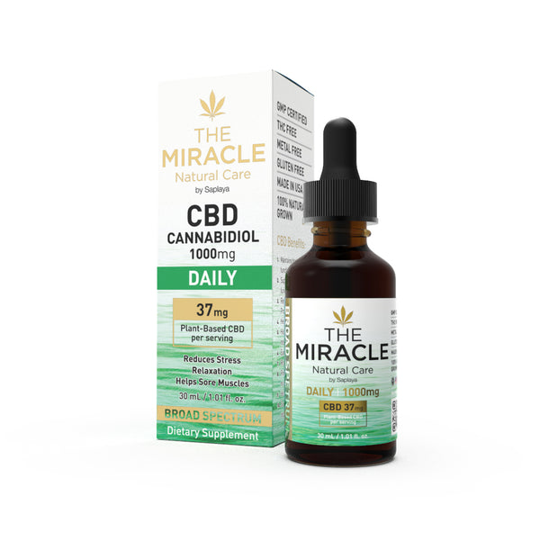 CBD Broad Spectrum 1000mg Daily