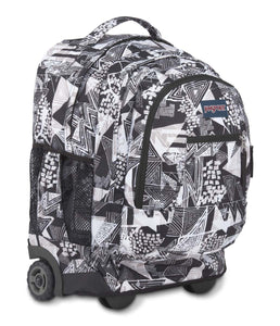 JanSport Rucksack Driver 8 Backpack Black Street Lines