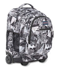 Load image into Gallery viewer, JanSport Rucksack Driver 8 Backpack Black Street Lines
