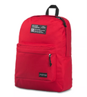 Load image into Gallery viewer, JanSport Rucksack Recycled Superbreak Backpack Red Tape
