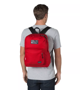 JanSport Rucksack Recycled Superbreak Backpack Red Tape