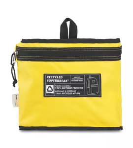 JanSport Rucksack Recycled Superbreak Backpack Yellow Card