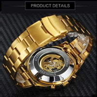 Skeleton Mechanical Skull Watches - Online-store