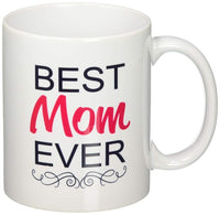 Best Mom Ever Coffee Mug Mothers Day Gift Thoughtful Heart Design 11 oz - Online-store