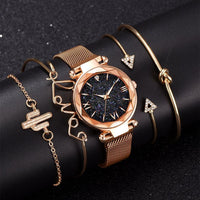 5pcs Set Luxury Women Watch - Online-store