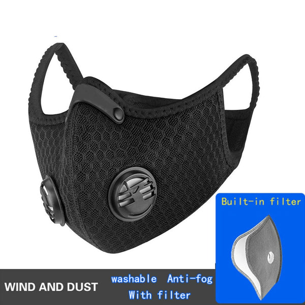 Anti Wind and Dust Mask with Build in Changeable Filter - Online-store