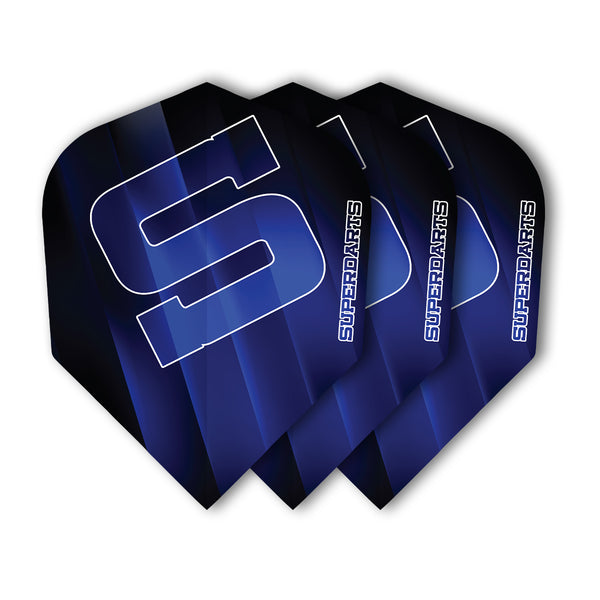 SUPERDARTS S FLIGHTS BLUE