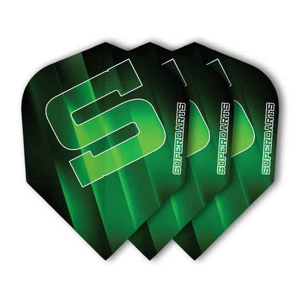 SUPERDARTS S FLIGHTS GREEN