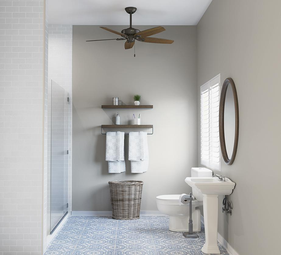 Best Ceiling Fans for Your Bathroom