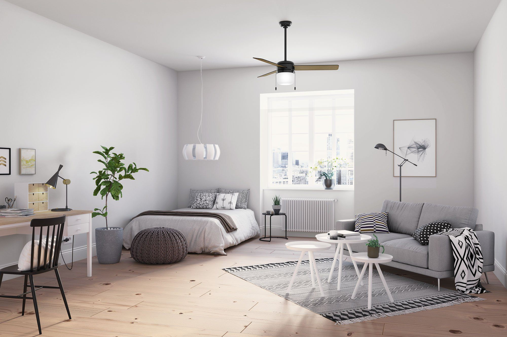 The Best Ceiling Fans For Large Rooms Hunter Fan