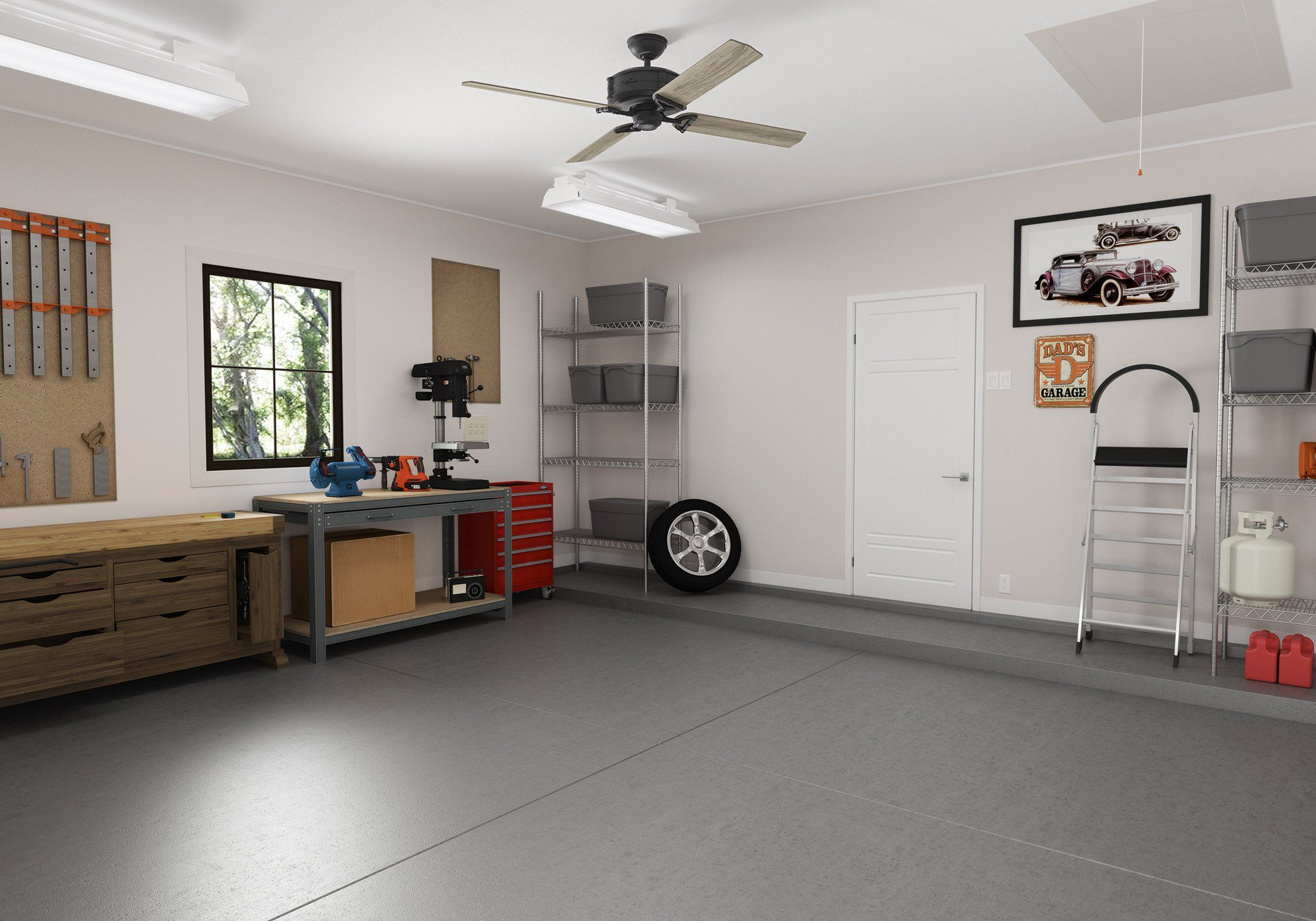 2020 Garage Updates You Can Do While Quarantined
