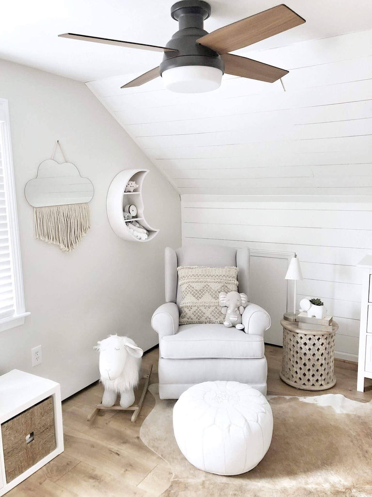Blogger feature: Why you need a nursery ceiling fan