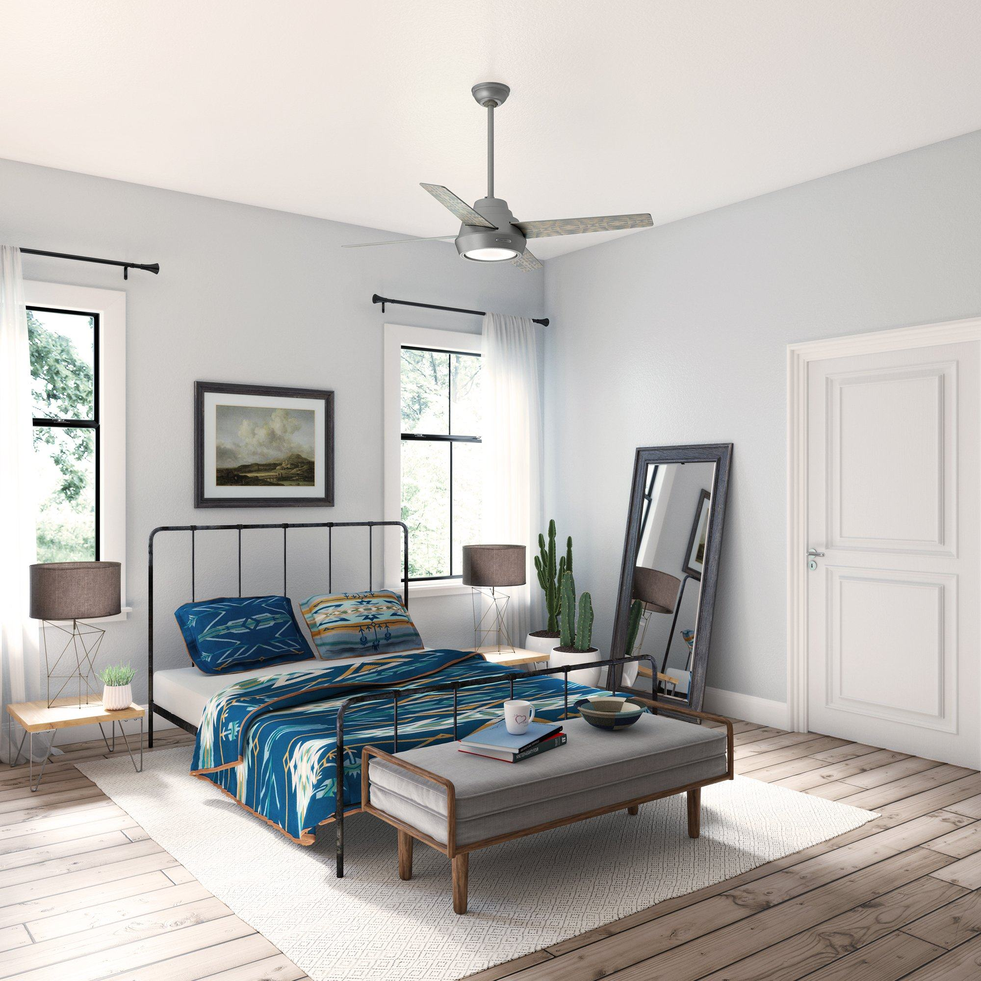 Bedroom Ceiling Fan Ideas To Transform Your Space Hunter Fan