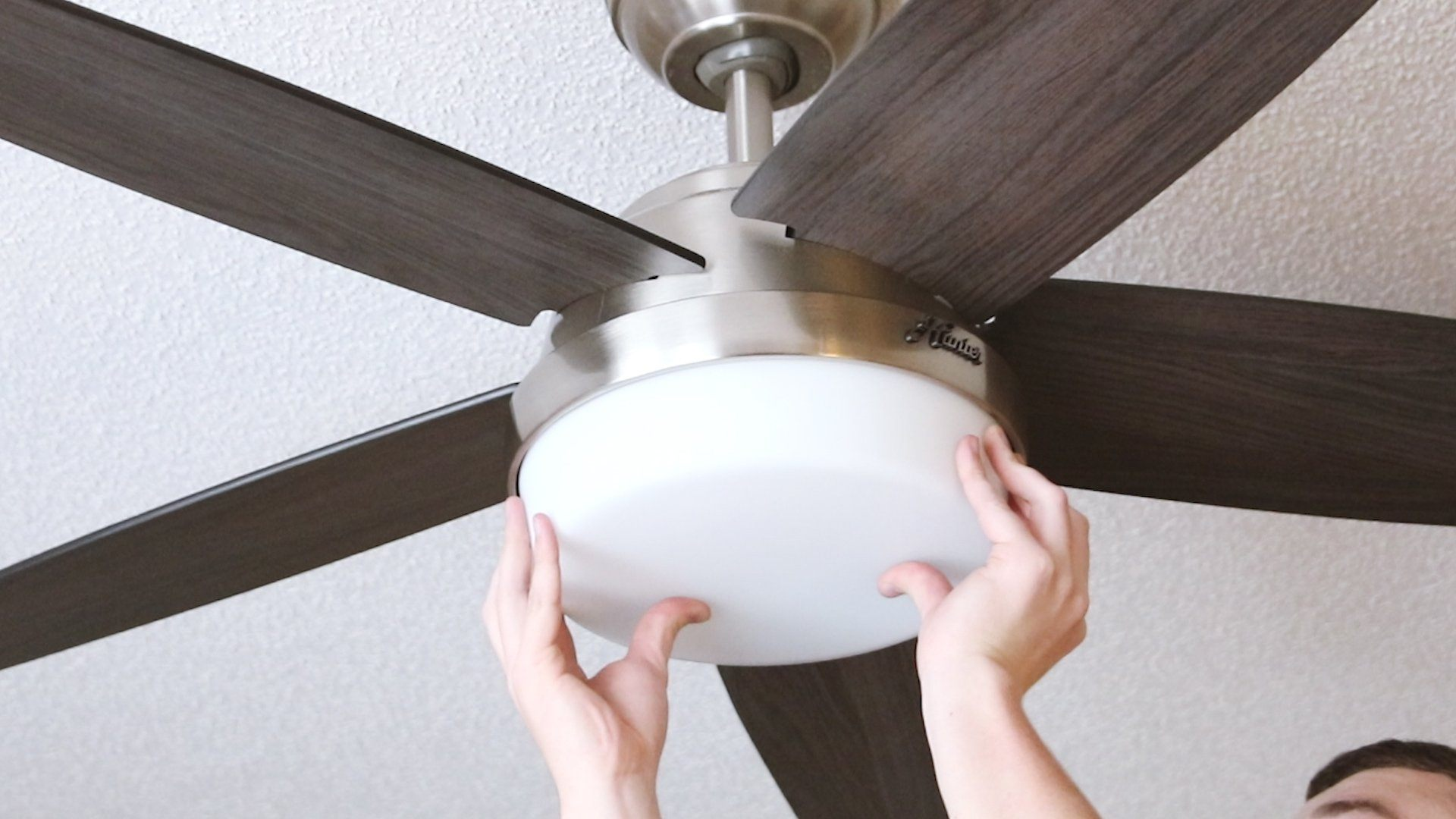 Installing A Ceiling Fan Where A Light Fixture Exists Hunter Fan