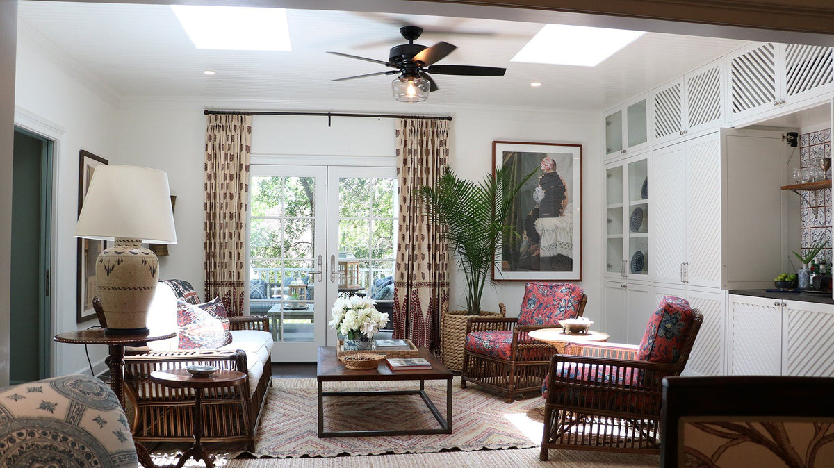 Brighten your space with sunroom ceiling fan ideas ...