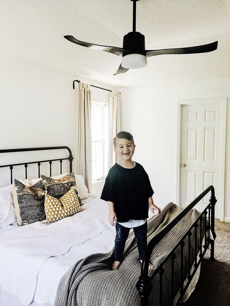 Blogger feature: Symphony WiFi ceiling fan completes master bedroom design