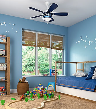 Kids Room with a Ceiling Fan | Hunter Fan