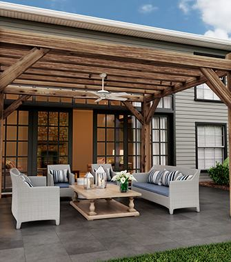 Outdoor Room with a  Ceiling Fans | Hunter Fan