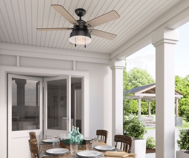 Mill Valley Ceiling Fan Outdoors