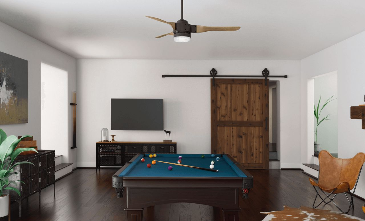 Apache with LED Light 54 Inch In Game Room