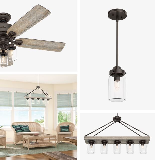 Lighting Collections Matching Ceiling Lights Fans Hunter Fan