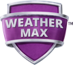 Hunter WeatherMax purple shield logo