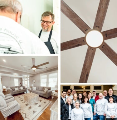Hunter Fan Team giving back to Dorothy day house