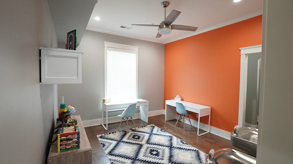 image of the playroom/office