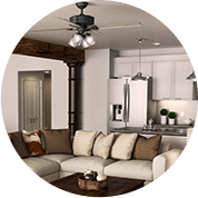 Ceiling Fans with Remotes
