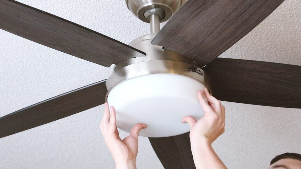 Hunter how to install a ceiling fan blog