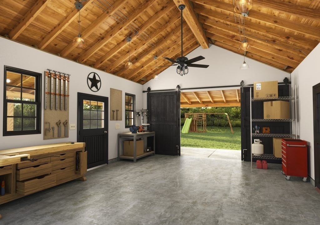 Hunter outdoor ceiling fan without light for garage ceiling ideas