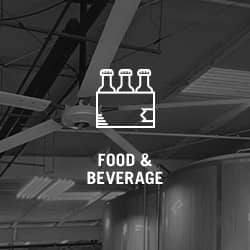 Industry Fans for the Food and Beverage Industry